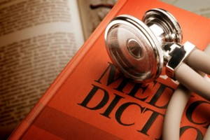 stethoscope-on-medical-dictionary